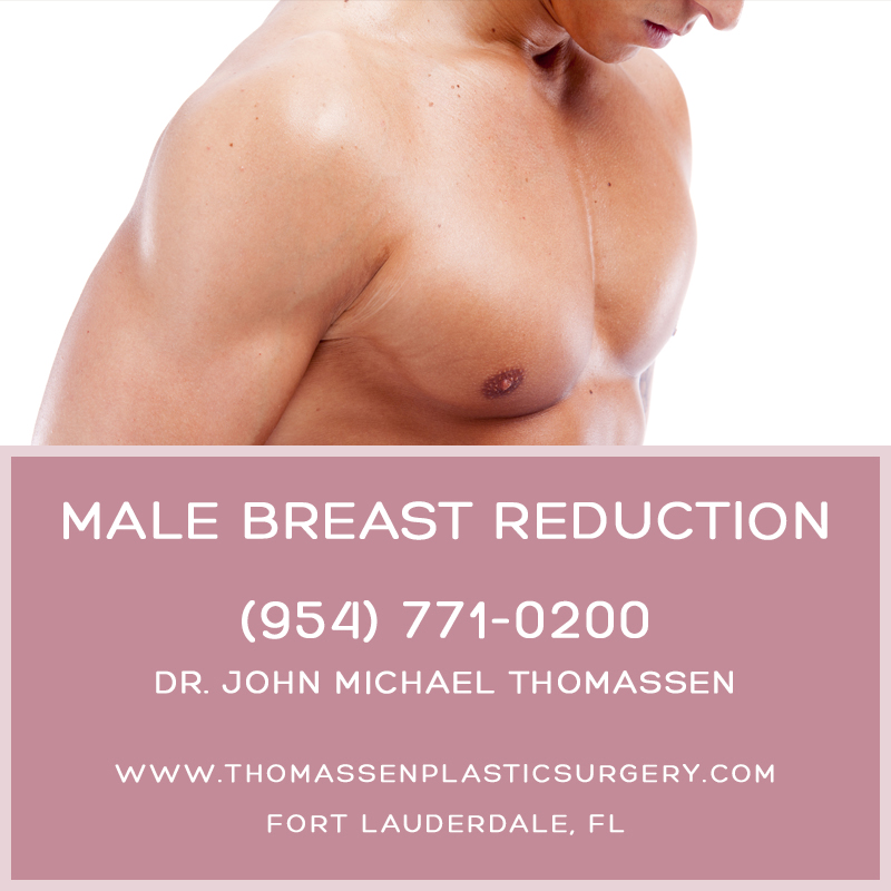 Male Breast Reduction (Gyneconmastia) Fort Lauderdale